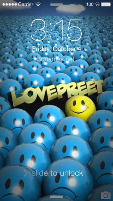 of name lovepreet
