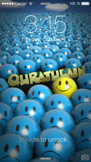 Preview of 'Special Smileys' for name: quratulain