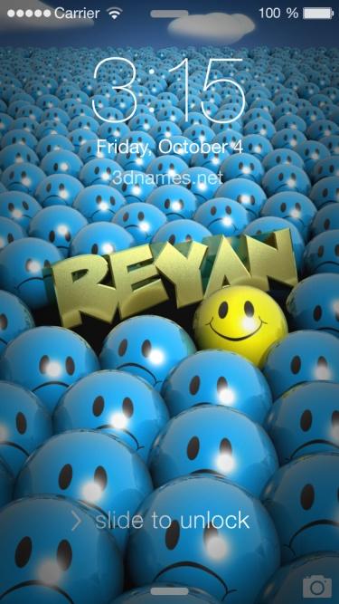 reyan name