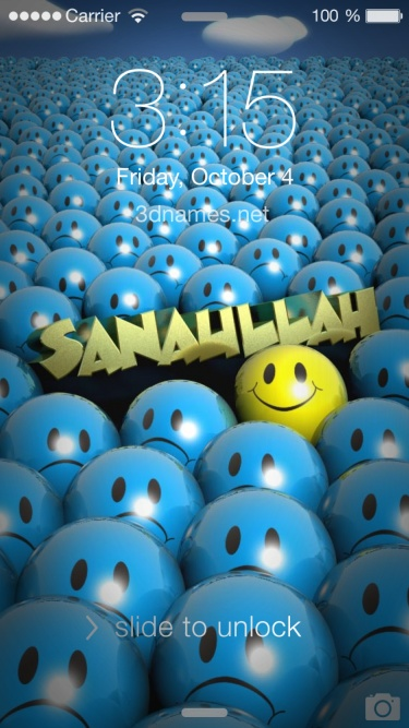 86baf60ad8 Preview of 'Special Smileys' for name: sanaullah