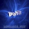 patil as a 3D Wallpaper