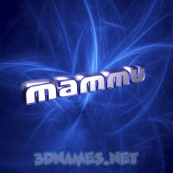8 3D images for Mammu