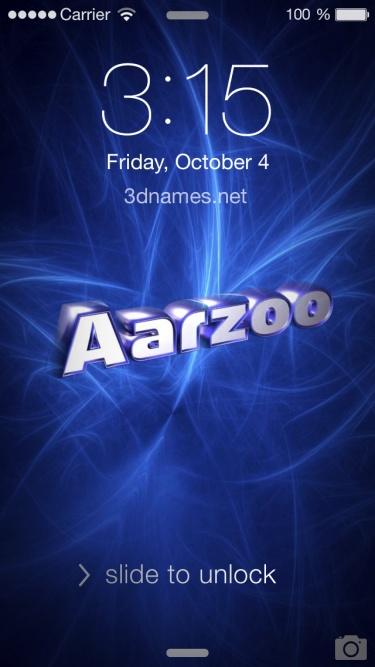 aarzoo name