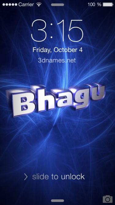 bhagu name