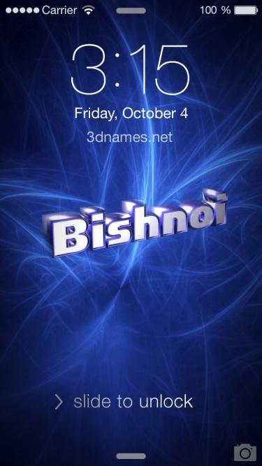 bishnoi name