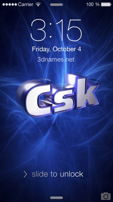 Preview of 'Plasma' for name: Csk