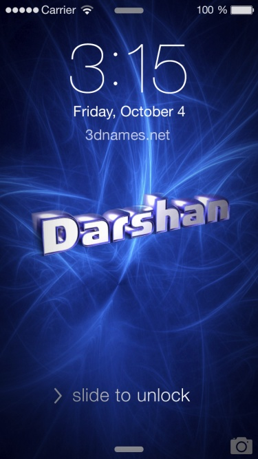 Preview Of Plasma For Name Darshan