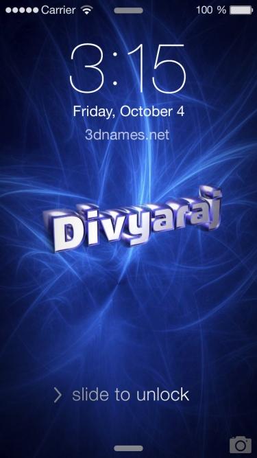 divyaraj name