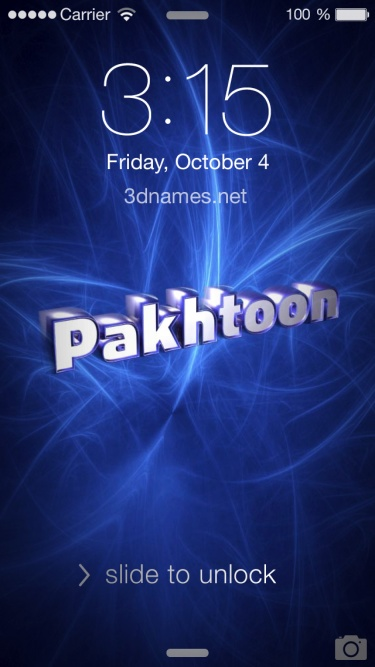 Preview of 'Plasma' for name: Pakhtoon
