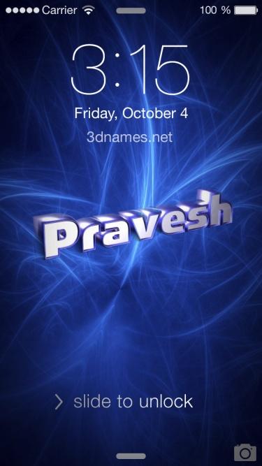 parvesh name