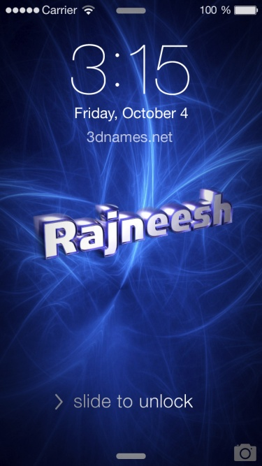 rajnish 3d name