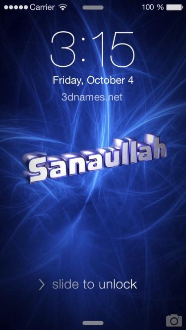 c8b16ce008 Preview of 'Plasma' for name: Sanaullah