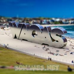 3d waqas name