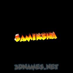 samiksha 3d name