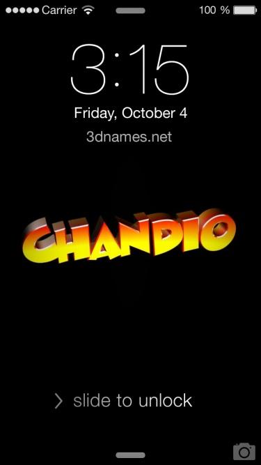 chandio 3d