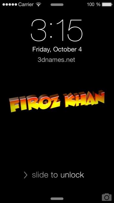 firoj khan name