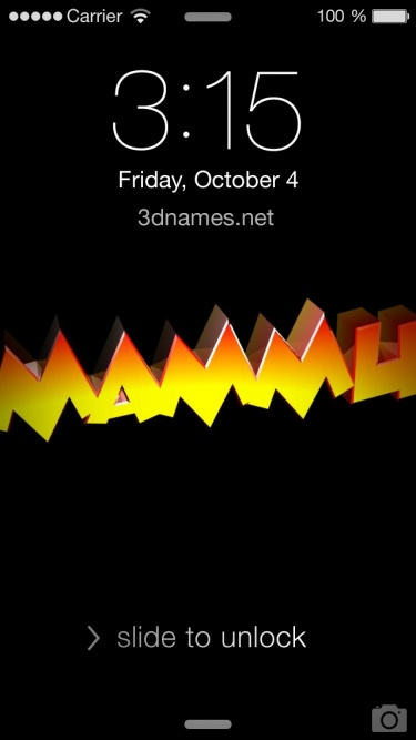 Preview of 'Black Background' for name: Mammu