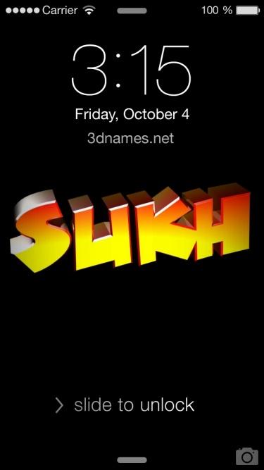 sukh name