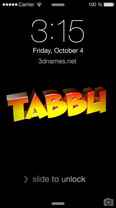tabbu name