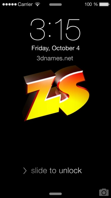 Preview of 'Black Background' for name: zs